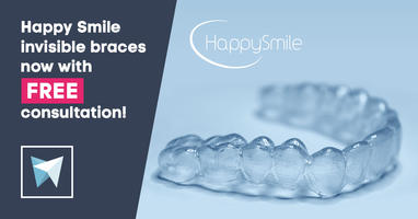 HappySmile invisible braces now with FREE consultation!